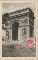 Carte-Maximum FRANCE N° Yvert 625 (ARC DE TRIOMPHE) Obl Sp Ill Libération (Ed Braun) - Maximum Cards