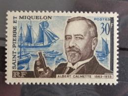 1963 Y&T N° 368 ** - CENTENAIRE DE LA NAISSANCE D'ALBERT CALMETTE - St.Pierre & Miquelon