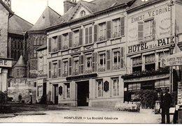 Calvados : Honfleur : Banque : Socièté Générale - Honfleur