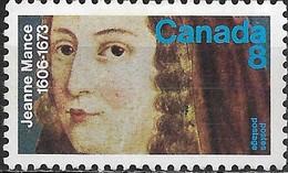 CANADA 1973 300th Death Anniv Of Jeanne Mance (nurse) - 8c Jeanne Mance MH - 1952-.... Règne D'Elizabeth II