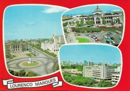 Afrique Afric Mozambique Lourenço Marques Carte Postale Postcards Used - Mozambique