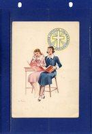 ##(DAN193)-Azione Cattolica Italiana-Aspir. Giov. Femm. - Nuova, Firma Illustratore - Pubblicitari