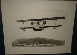 HYDRAVION METEORE.en Vol.Lieu Inconnu.Dimension220 X 170 - Aviation