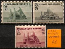 [814924]Belgique 1938 - N° 481/83, Koekelberg, Architecture, Eglises Et Cathédrale - Architecture