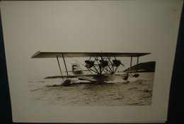 HYDRAVION METEORE.Sur L'eau.Lieu Inconnu.Dimension220 X 170 - Aviation