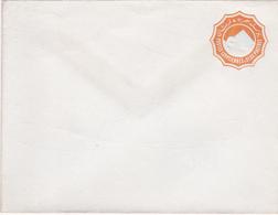 Entier Postal Stationery - Egypte - Enveloppe/lettre - Embossed - Orange 2 Piastres - Grand Format:14.6x11.2cm - Égypte