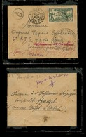FRC - Ivory Coast. 1940 (22 March). Abidjan - MAROCCO. Fkd Censored Env Addressed To Military. Fine + Dest. - France (former Colonies & Protectorates)