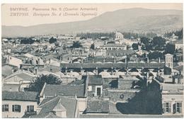 SMYRNE - Panorama, Quartier Arménien - Turquie