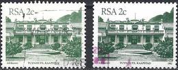 South Africa 1982/83 - Mi 602 I Et II - YT 507/57 ( House Of Prime Minister ) - Afrique Du Sud (1961-...)
