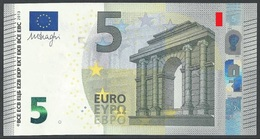 EURO GREECE 5 YA Y007 UNC DRAGHI POS A3 - EURO