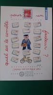 CPM QUEL EST LE COMBLE POUR UN FACTEUR ? VELO  ILLUSTRATRICE MONIQUE TOUVAY ED QUATRE ZEPHIRES  FLAMME TIMBRE1999 - Illustratoren & Fotografen