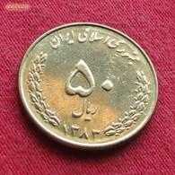 Iran 50 Rials 2004 / SH 1383 KM# 1266 Lt 237   Irão Persia Persien - Iran