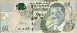 TWN - BAHAMAS 71A - 1 Dollar L.2000 (2015) Prefix AR UNC - Bahamas