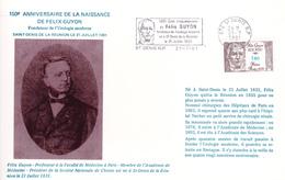 Félix GUYON Fondateur De L'UROLOGIE Moderne, Né Le 21 Juil. 1831 à SAINT DENIS DE LA REUNION - Santé