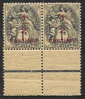 FRANCE  1919  -  Y&T  157b   Ardoise  -  Type  Blanc  Sur Papier GC  Chamois Foncé - NEUFS  ** - Cote Maury 14e - 1900-29 Blanc