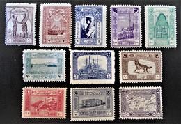 EMISSION 1921 - UNITE DE LA NATION - NEUFS * - YT 643/53 - INTROUVABLES EN NEUFS ET SERIE COMPLETE !!! - 1858-1921 Ottoman Empire