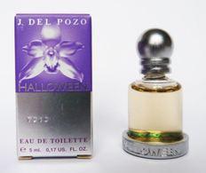 Miniature Halloween De J. Del Pozo Eau De Toilette 5 Ml - Miniatures Modernes (à Partir De 1961)