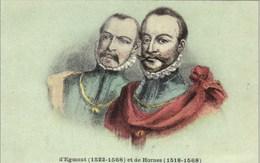 Comtes D'Egmont Et De Hornes - N'a Pas Circulé - Personnages Historiques