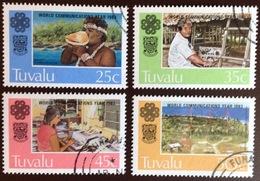 Tuvalu 1983 Communications Year VFU - Tuvalu (fr. Elliceinseln)