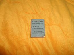 PETIT DICTIONNAIRE DE POCHE FINLANDE FINNOIS FRANCAIS DE 1964. - Livres, BD, Revues