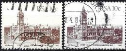 South Africa 1982/83 - Mi 610 Ia/Ib - YT 515/61 ( Pietermaritburg City Hall ) - Afrique Du Sud (1961-...)