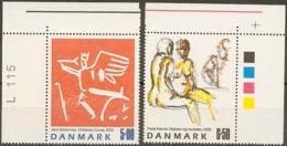 Denmark 2002. Contemporary Art. Michel  1318-19  MNH. - Nuevos