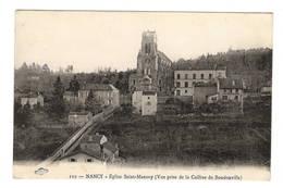 54 MEURTHE ET MOSELLE - NANCY Eglise Saint-Mansuy, Prise De La Colline De Boudonville - Nancy