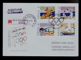 Escrime Voile Jumping Horses Equestrian Fencing Shooting Salling Portugal Sports Fdc #9931 - Escrime