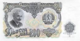 200 Lewa Banknote Bulgarien 1951 - Bulgarien
