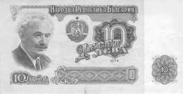 10 Lewa Banknote Bulgarien 1974 - Bulgarien