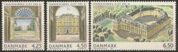 Denmark 2004.  300 Anniv Frederiksberg Castle. Michel 1371-73  MNH. - Nuevos