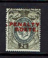 SOUTH AFRICA...early .REVENUE...penalty Overprint - South Africa (...-1961)
