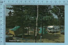 Plessisville Quebec -Camping    , Servie En 1986, Post Card, Carte Postale - Quebec