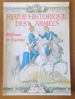 REVUE HISTORIQUE DES ARMEES 1993 Numero 4 - Documents
