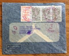 POSTA AEREA  PAR AVION BOLIVIA ARGENTINA  FROM LA PAZ TO BUENOS AIRES  THE 19/9/1938 - Bolivia
