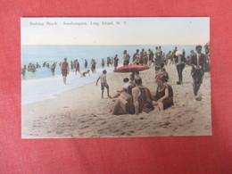 Beach Club    Hand Colored--  Southampton   Long Island   New York >   Ref 3184 - Long Island