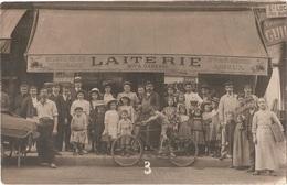 Dépt 75 - PARIS (55 Rue Du Faubourg Saint-Martin) - CARTE-PHOTO Devanture LAITERIE A. GARENNE (Beurre, Oeufs, Fromages) - Arrondissement: 10