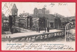 Hamburg- St Pauli  - Bei Den Landungsbrücken - Other