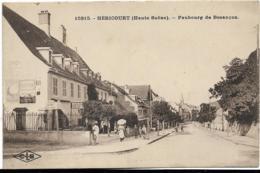 D70 - HERICOURT - FAUBOURG DE BESANCON - Restaurant Plançon - Carte Animée - Francia