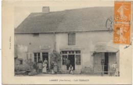 D70 - LARRET - CAFE TERRAUX - Tabac/Epicerie/Mercerie/Restaurant  - Carte Animée - France