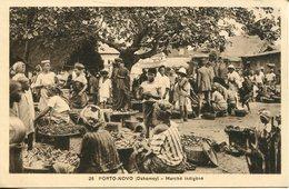 006574  Porto-Novo - Marché Indigène - Dahome
