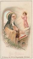 Images Religieuses : SAINTE-THERESE  ( édit. De N.D. D'aiguebelle - Drome ) - Images Religieuses