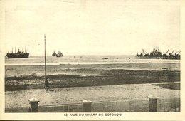 006576  Vue Du Wharf De Cotonou - Dahome