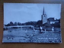 Hotton Sur Ourthe, L'église Et L'Ourthe --> Onbeschreven - Hotton