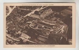 CPSM BOURGANEUF (Creuse) - Vue Des Etablissements VILLEGOUREIX Et Cie Manufacture De Porcelaine 16 Av. Garibaldi LIMOGES - Bourganeuf