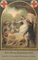 Themes Div-ref AA672- Guerre 1914-18- Illustrateurs -illustrateur -av Reesler - Santé - Croix Rouge - - Non Classificati