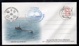 SOUS MARIN - U BOOT - SUBMARINE / 2002 ALLEMAGNE ENVELOPPE ILLUSTREE (ref LE3238) - Submarines