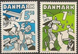 Denmark 2008.  CEPT: The Letter.  Michel 1501-02  MNH. - Nuevos