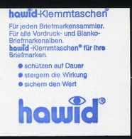 24f MH BuS 1982 Mit Zählbalken: Verschnitt Der 2. Und 3. Deckelseite, ** - BRD