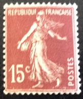 N° 189  NEUF ** SANS CHARNIÈRE ( LOT:61 ) - 1906-38 Semeuse Camée